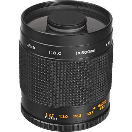 Samyang Mirror 500mm F/8 MC (Bower, Exakta, Opteka, Phoenix, Pro Optic, Rokinon, Vivitar Series 1, Walimex Pro)