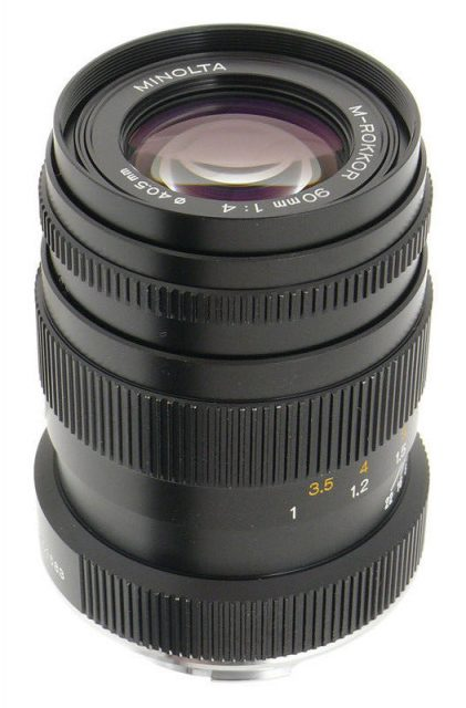 Minolta M-Rokkor 90mm F/4 (CLE)