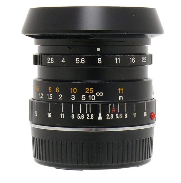 Minolta M-Rokkor 28mm F/2.8 (CLE)