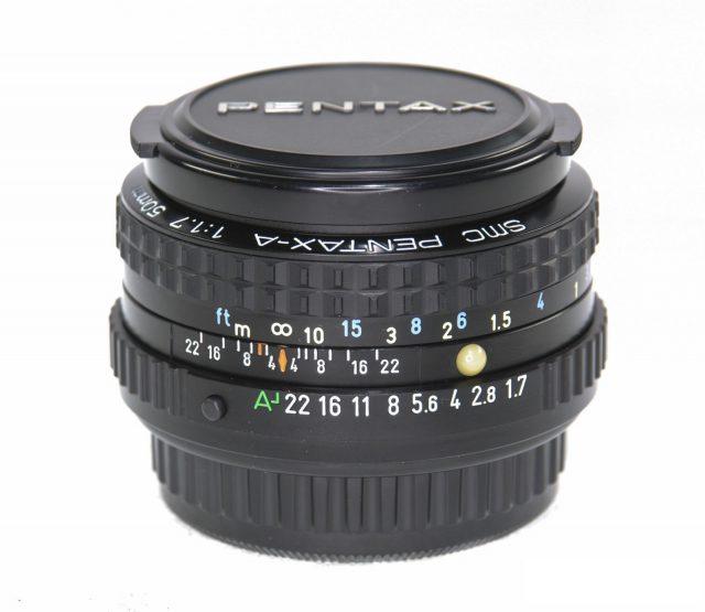 smc Pentax-A 50mm F/1.7