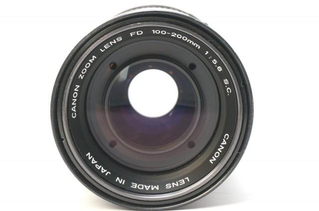 Canon FD 100-200mm F/5.6 S.C.