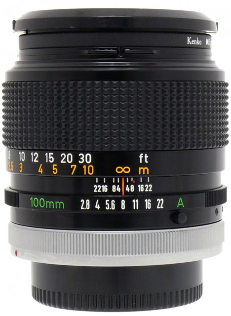 Canon FD 100mm F/2.8 S.S.C.