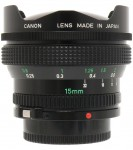 Canon FDn 15mm F/2.8 Fisheye