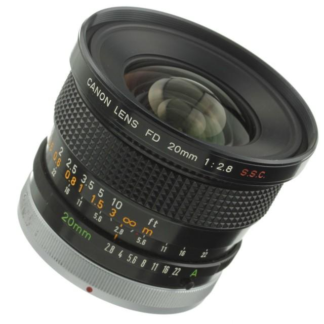 Canon FD 20mm F/2.8 S.S.C.