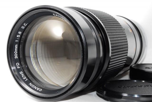 Canon FD 300mm F/5.6 S.C.