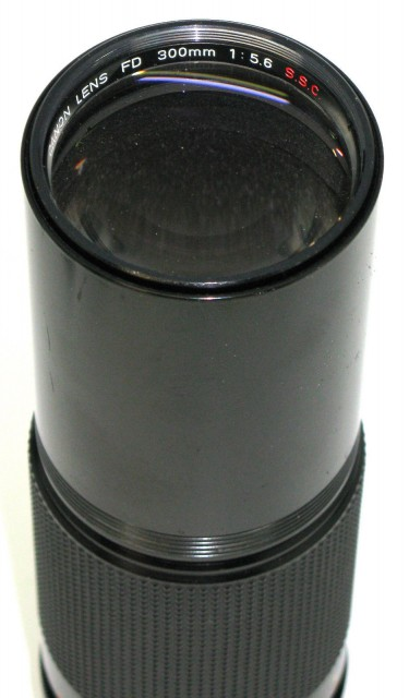 Canon FD 300mm F/5.6 S.S.C.
