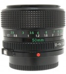 Canon FDn 50mm F/1.2