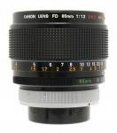 Canon FD 85mm F/1.2 S.S.C. Aspherical