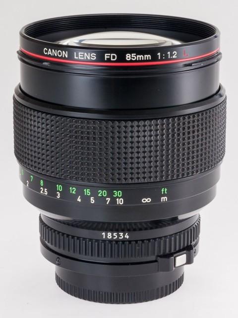 Canon FDn 85mm F/1.2L