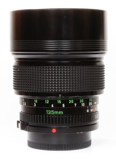 Canon FDn 135mm F/2