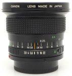 Canon FDn 20mm F/2.8