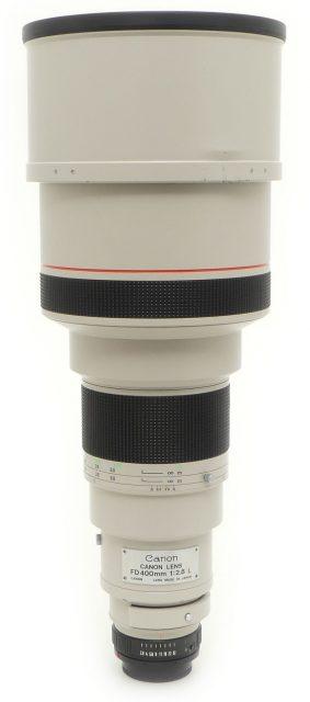 Canon FDn 400mm F/2.8L