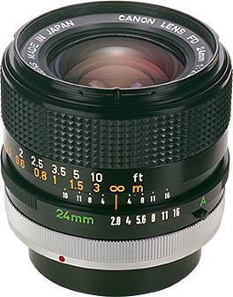 Canon FD 24mm F/2.8