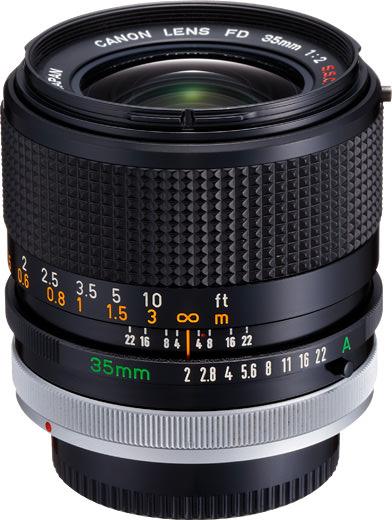 Canon FD 35mm F/2 S.S.C. (II)