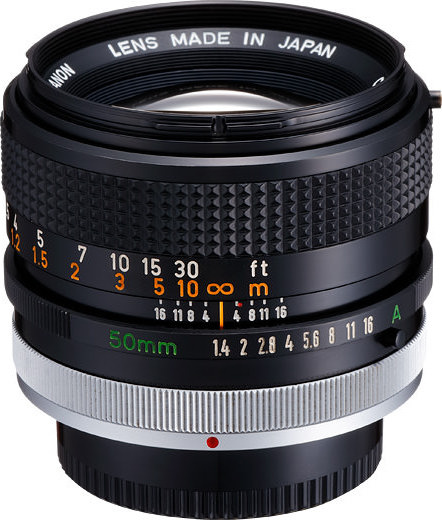 Canon FD 50mm F/1.4 S.S.C. (I)