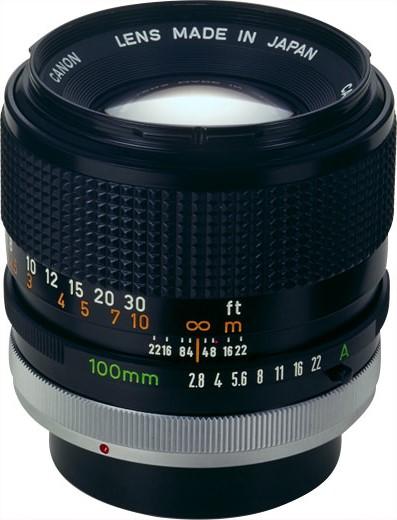 Canon FD 100mm F/2.8