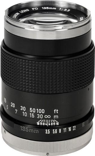 Canon FD 135mm F/3.5