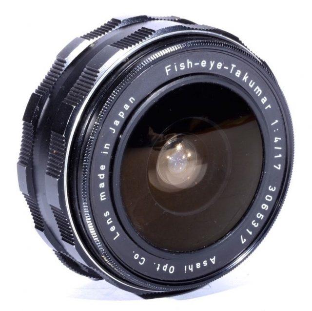 Asahi Fish-eye-Takumar 17mm F/4
