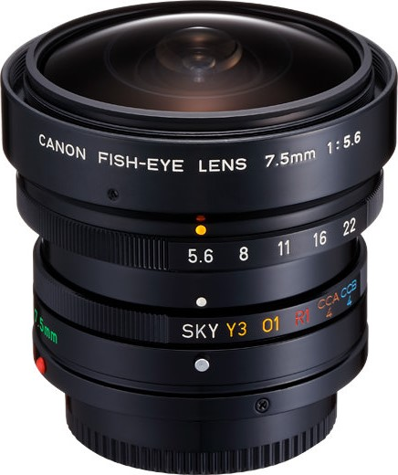 Canon FDn 7.5mm F/5.6 Fisheye