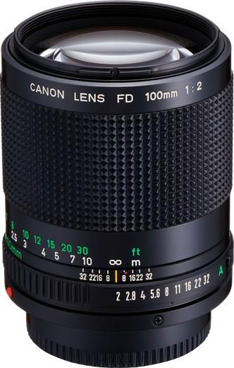 Canon FDn 100mm F/2