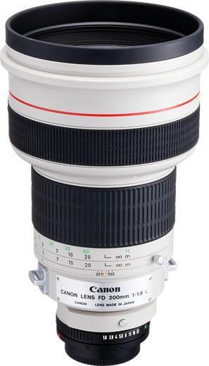 Canon FDn 200mm F/1.8L