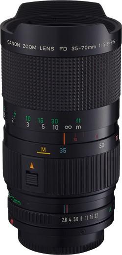 Canon FDn 35-70mm F/2.8-3.5