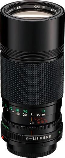 Canon FDn 70-150mm F/4.5