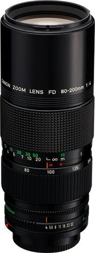 Canon FDn 80-200mm F/4