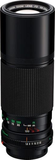 Canon FDn 100-200mm F/5.6
