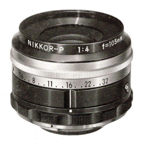 Nikon Nikkor-P 105mm F/4