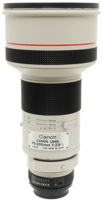 Canon FDn 300mm F/2.8L