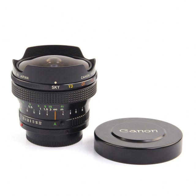 Canon FDn 15mm F/2.8 Fisheye