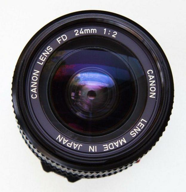 Canon FDn 24mm F/2