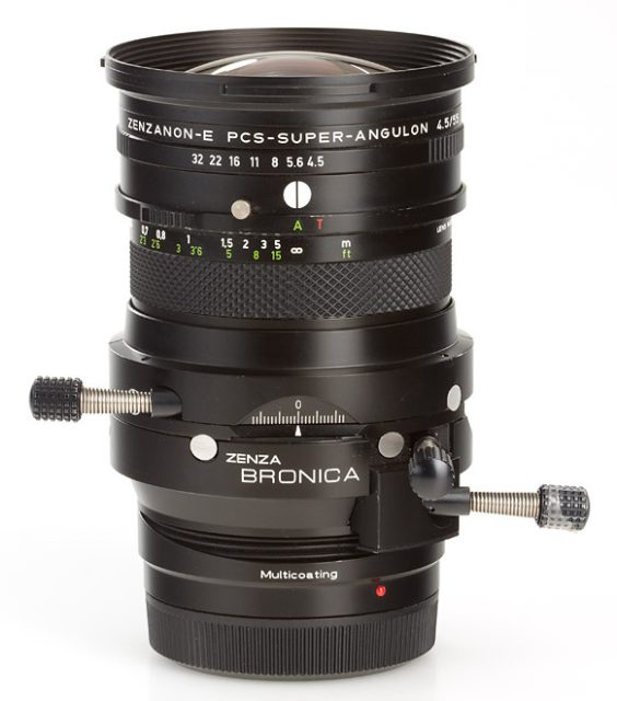 Schneider-KREUZNACH Zenzanon-E PCS-Super-Angulon 55mm F/4.5