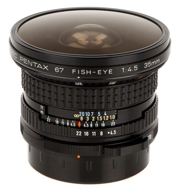 smc Pentax 67 35mm F/4.5 Fisheye