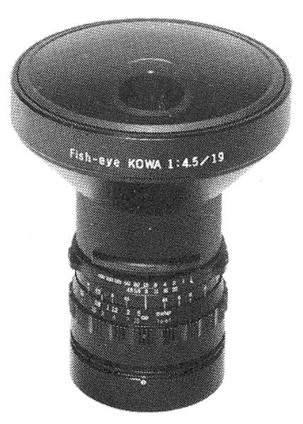 Kowa 19mm F/4.5 Fish-eye