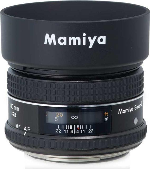 Mamiya SEKOR D AF 80mm F/2.8