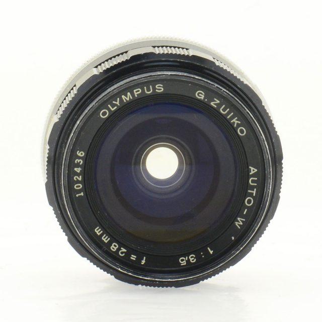 Olympus G.Zuiko Auto-W 28mm F/3.5 for FTL