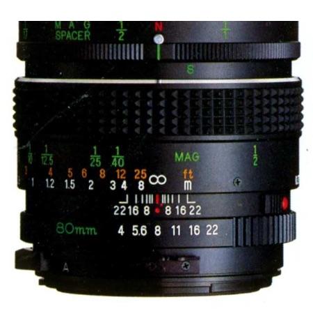Mamiya-Sekor Macro C 80mm F/4