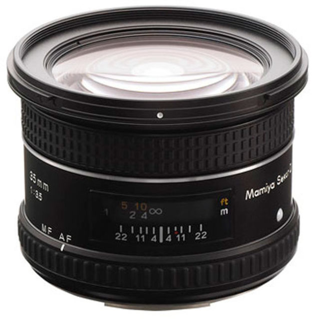 Mamiya SEKOR D AF 35mm F/3.5