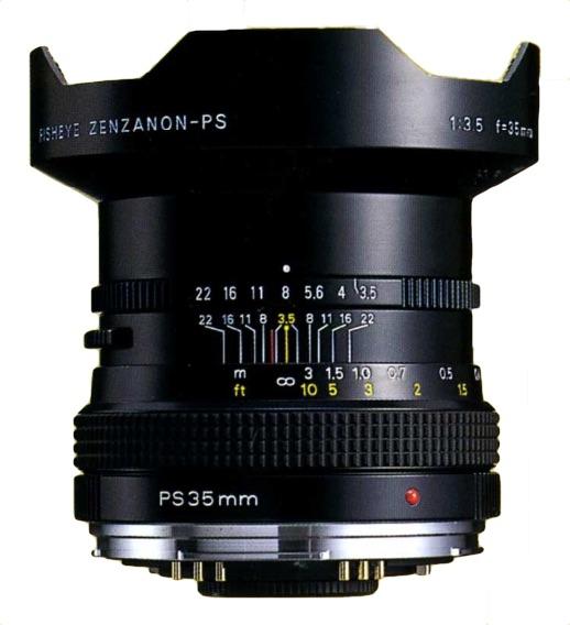 Zenza Bronica Fisheye Zenzanon-PS 35mm F/3.5