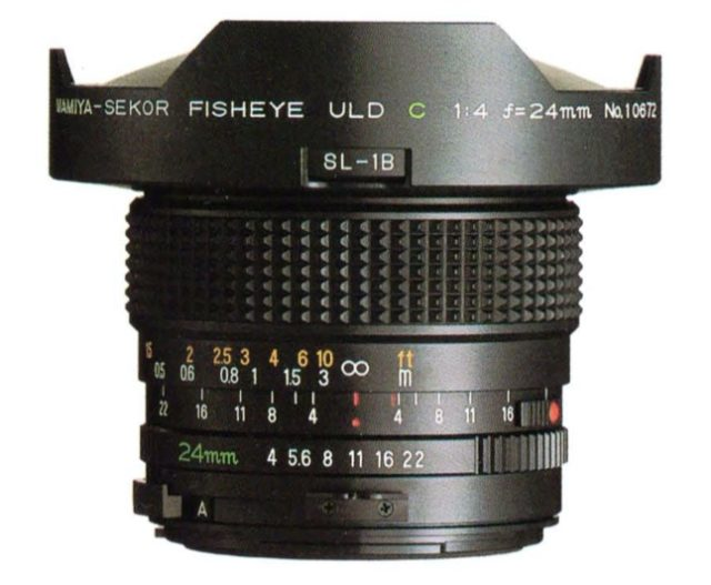 Mamiya-Sekor Fisheye ULD C 24mm F/4