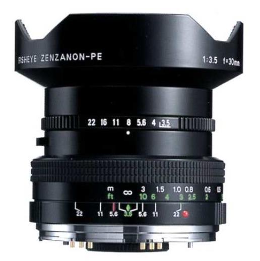 Zenza Bronica Fisheye Zenzanon-PE 30mm F/3.5