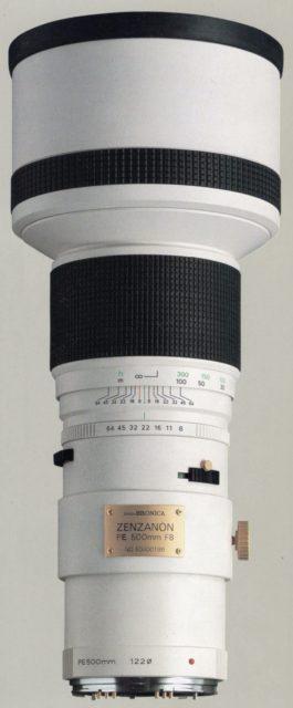 Zenza Bronica Zenzanon-PE 500mm F/8