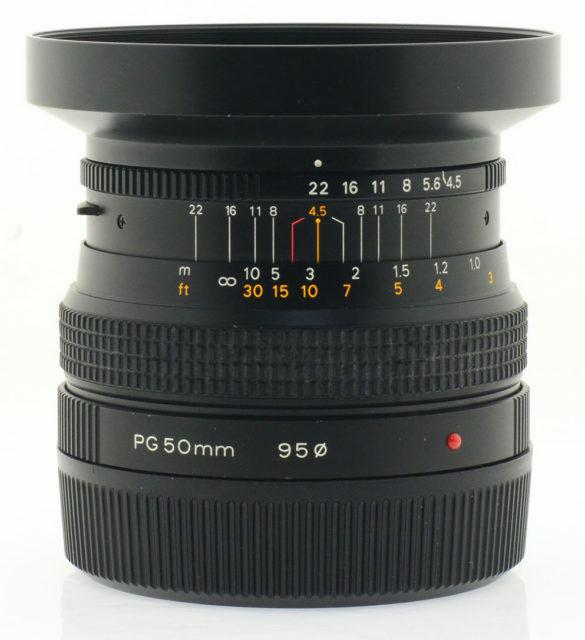 Zenza Bronica Zenzanon-PG 50mm F/4.5