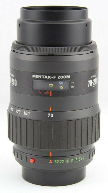 smc Pentax-F 70-200mm F/4-5.6