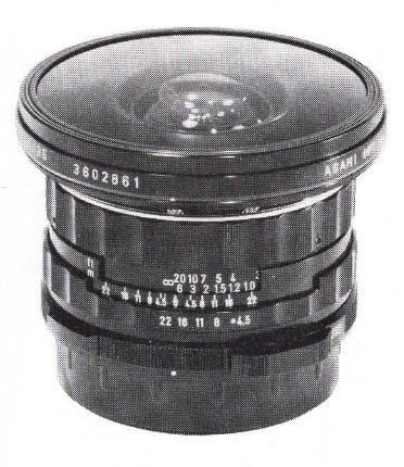 Asahi Fish-eye-Takumar 6x7 35mm F/4.5
