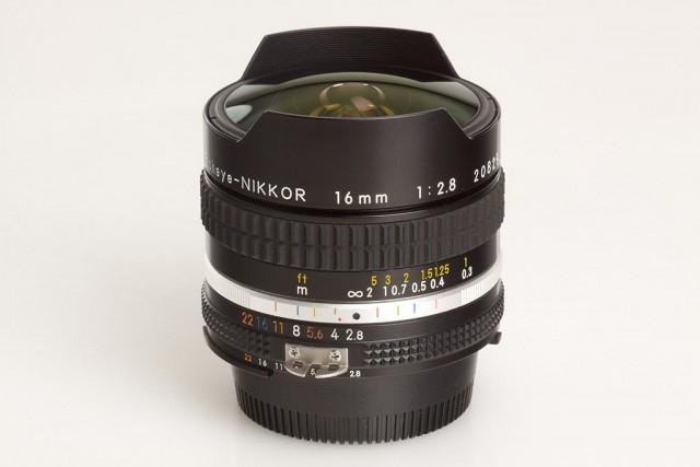 Nikon AI-S Fisheye-Nikkor 16mm F/2.8