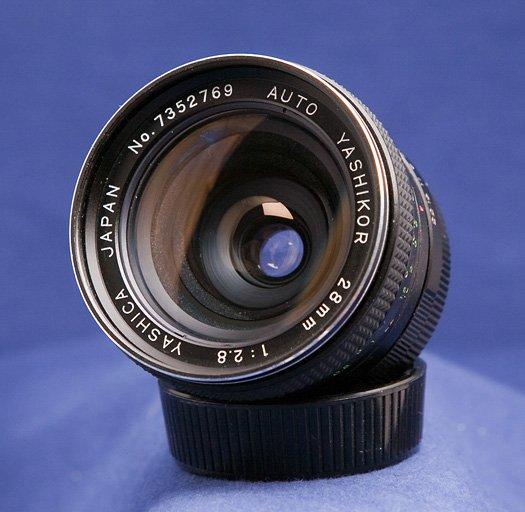 Yashica Auto Yashikor 28mm F/2.8