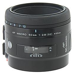 Minolta AF 50mm F/2.8 Macro RS